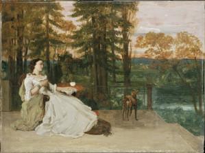 Schirn Presse Courbet La Dame de Francfort 1885