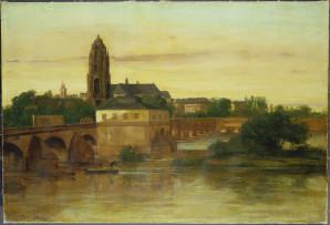 Schirn Presse Courbet Vue de Francfort 1858