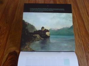 Le calendrier Courbet 2015 2
