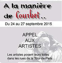 A LA MANIERE DE COURBET» LA TOUR-DE-PEILZ