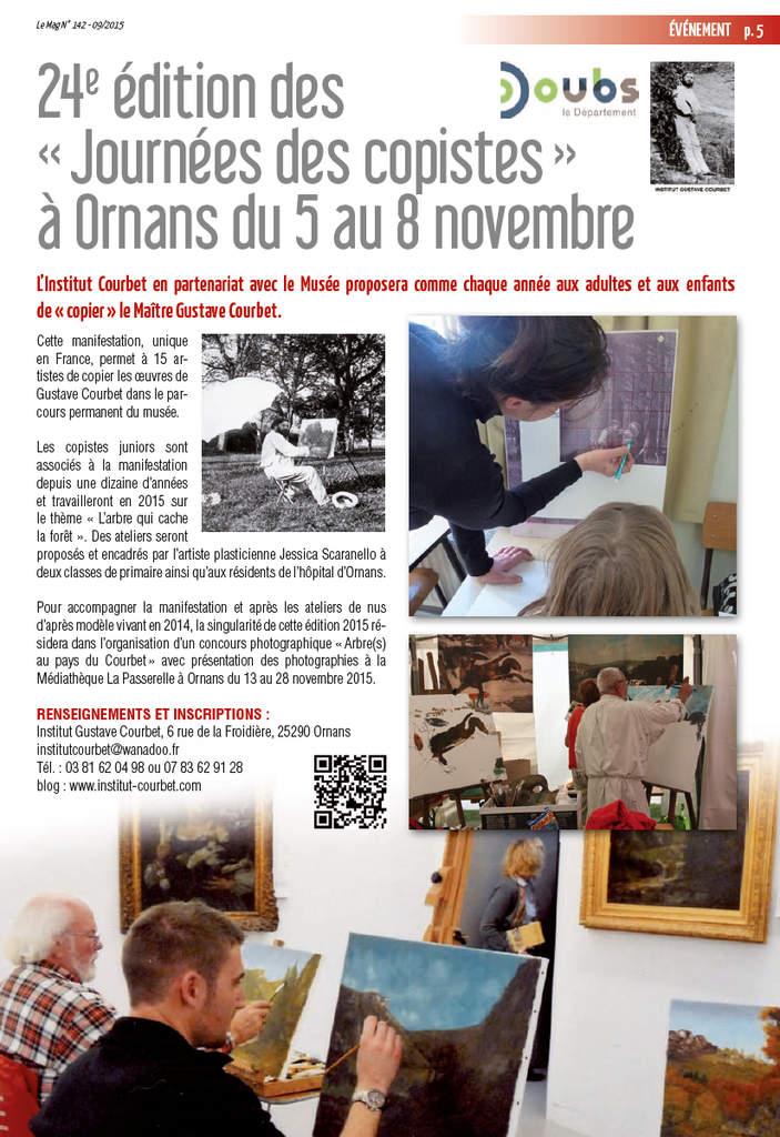 le-mag Copistes 2015 -
