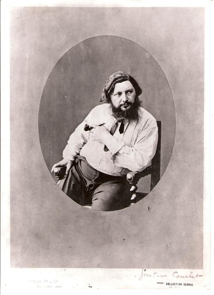 Courbet-en-medaillon