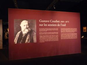 Gustave Courbet sur les sentiers de l'exil
